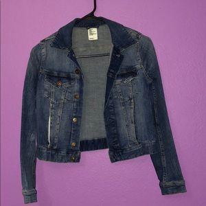 Jean Jacket. Used few times. Normal wear!